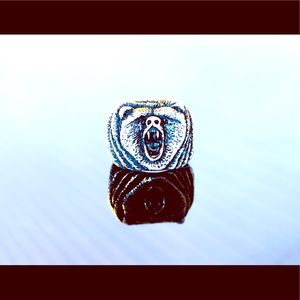 Other - Custom Made Grizzly Bear Ring